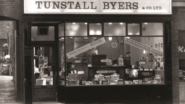 It all started with a small radio and television shop